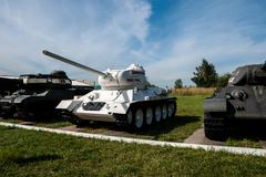 t-34-85. russia kubinka - stock photo