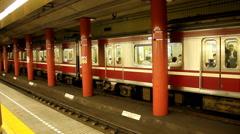 Tokyo subway (4) Stock Footage