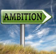 ambition - stock illustration