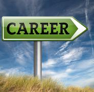 career move - stock illustration