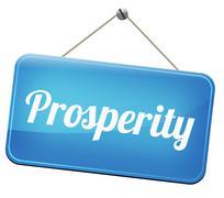 Stock Illustration of prosperity