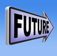 Bright future Stock Illustration
