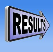 results - stock illustration