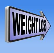 Weight loss Stock Illustration
