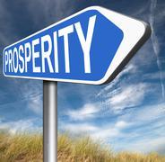 Prosperity Stock Illustration
