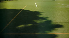 School and sports ground Stock Footage