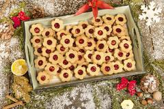 Advent biscuit Stock Photos