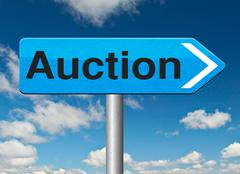 Internet auction Stock Illustration