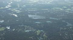 Everglades Subdivisions aerials Stock Footage