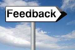 user feedback and testimonials.  customer satisfaction survey comments review - stock illustration
