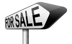 Sell online Stock Illustration