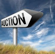 Stock Illustration of auction