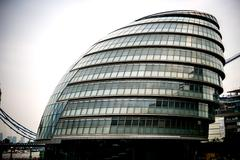 Headquarters of Greater London Authority known as City Hall - stock photo