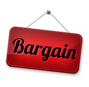 Bargain Stock Illustration