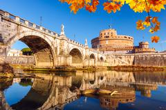 Sant'Angelo fortress, Rome - stock photo