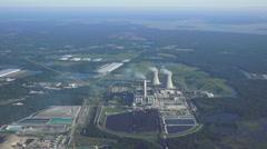 Nuclear Plant Jacksonville Stock Footage