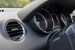Car Interior Detail Stock Photos