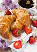 crunchy breakfast - stock photo