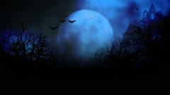 HD Halloween dark Jungle 3 Stock Footage