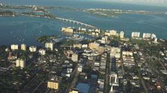 Sarasota, Florida Aerial Stock Footage