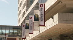 Dana Farber Cancer Institute Exterior - stock footage