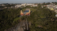 Aerial Image of  Beautiful Tangua Park in Brazil - 015 Stock Footage