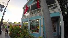 Ron jon surf shop in key west florida keys Stock Footage