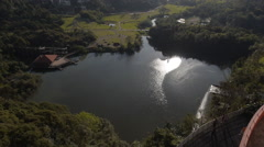 Aerial Image of  Beautiful Tangua Park in Brazil - 012 Stock Footage