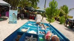 Robbies shells souveniers in islamorada in the florida keys Stock Footage