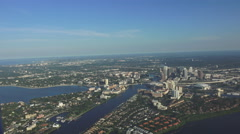 Tampa, Florida Aerial Stock Footage