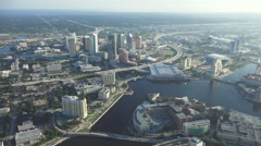 Tampa, Florida Aerial - stock footage
