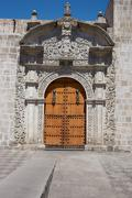 Iglesia Santo Domingo - stock photo