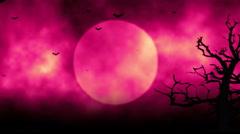 Scary Halloween Night Romance 2 Stock Footage