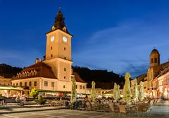 brasov, council house - stock photo