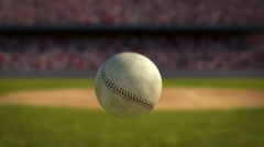 Baseball Hit in Super Slow Motion Stock Footage