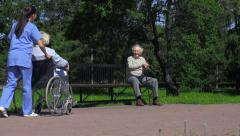 Old Age is not a Blessing Stock Footage