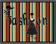 beauty & fashion vector - stock illustration