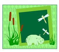 Swamp vector Piirros