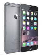 Apple space gray iphone 6 plus Stock Illustration