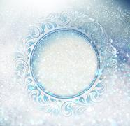 Freeze ornament - stock illustration