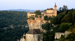 Rocamadour, Midi-Pyrenees Region, Lot Department, France, Europe Stock Footage