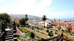 La Orotava, Tenerife Stock Footage