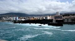 Puerto de la Cruz, Tenerife - stock footage