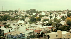 View over Cordoba Argentina - stock footage