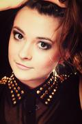 people concept - teenage girl portrait - stock photo