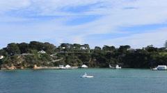 Sorrento Headland Port Phillip Bay Victoria Australia Stock Footage