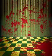 Bloody room Stock Illustration
