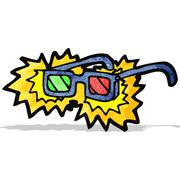 Stock Illustration of cartoon x-ray specs