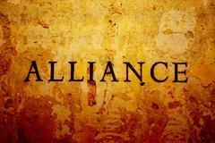 alliance - stock illustration