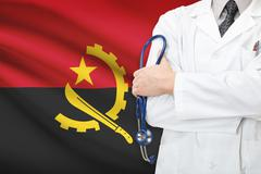 Stock Photo of concept of national healthcare system - angola